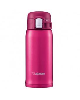 ZOJIRUSHI 象印 超輕量真空保溫瓶 SM-SD36-PV 深粉紅色 (360ML)