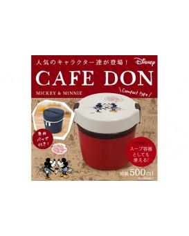 日本Asvel 米奇雙層保溫飯壺 HLB-CD500