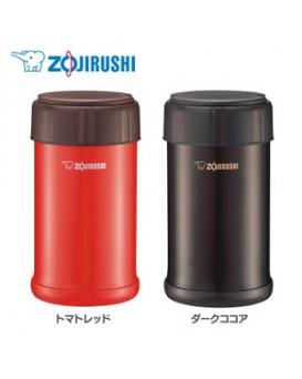 ZOJIRUSHI 象印 真空燜燒/保冷壺SW-JA75 (750ML) 紅色/啡色