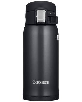 ZOJIRUSHI 象印 超輕量真空保溫瓶 SM-SD36-BC 黑色 (360ML)