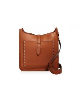 Rebecca Minkoff Small Unlined Feed Bag (Almond W/Studs) 女裝手袋 斜揹袋 HT26IULX92-230