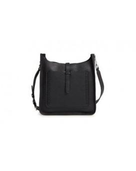 Rebecca Minkoff Small Unlined Feed Bag (black whipstitch) 女裝手袋 斜揹袋 HSP7EUWX92-001