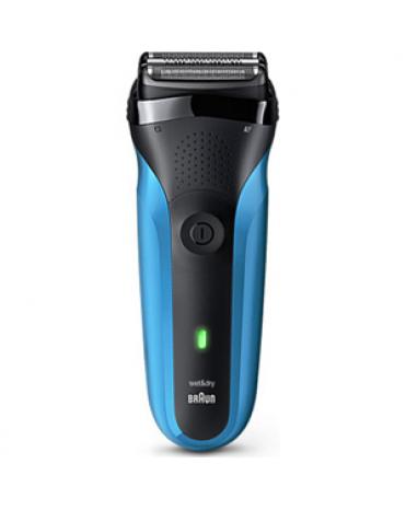 Braun 310S 可充電乾濕兩用電鬚刨 [藍色]