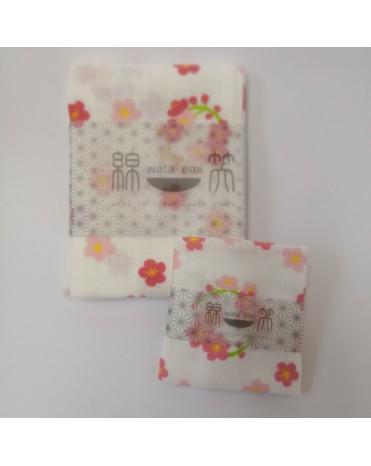 日本製 JOGAN 二重紗巾優惠套裝 WEBE (櫻花)