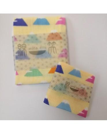 日本製 JOGAN 二重紗巾優惠套裝 WEFS (黃色)
