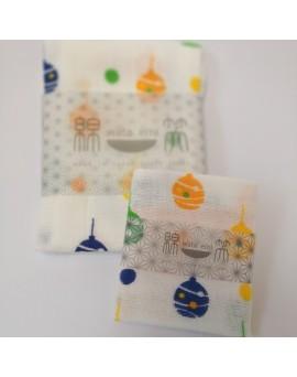 日本製 JOGAN 二重紗巾優惠套裝 WEYY (吊鈴)