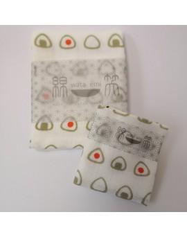 日本製 JOGAN 二重紗巾優惠套裝 WEON (飯團)