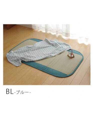 日本 IKEHIKO 九州天然無染素肌草蓆 P51-4-BL ( 藍色)