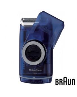BRAUN  M60B M系列電池式輕便 電鬚刨 - 炫藍
