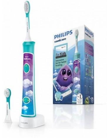 Philips HX6322/04兒童聲波震動牙刷