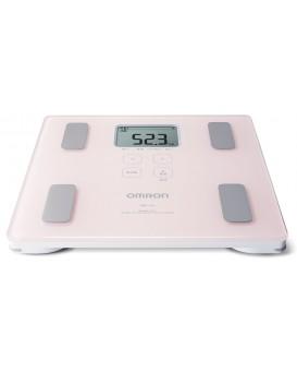 Omron HBF-214-PK 身體體重 身體成分 身體掃描 脂肪分析儀(粉紅色)