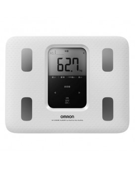 Omron HBF-220-W 體重身體成分分析儀 身體掃描 脂肪測量儀 (白色)