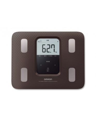 Omron HBF-220-BW 體重身體成分分析儀 身體掃描 脂肪測量儀 (棕色)