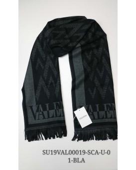 Valentino 純羊毛頸巾/圍巾 (黑色) SU19VAL00019-SCA-U-01-BLA