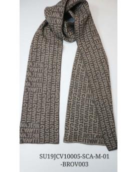 意大利品牌Just Cavalli 圍巾/頸巾 (咖啡色品牌字母)  SU19JCV10005-SCA-M-01-BROV003