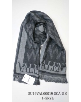 Valentino 純羊毛頸巾/圍巾 (灰色) SU19VAL00019-SCA-U-01-GRYL