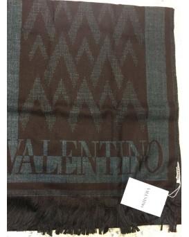 Valentino 純羊毛頸巾/圍巾 (咖啡色) SU19VAL00020-SCA-U-01-S39CHOC