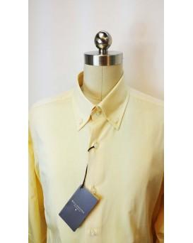 BALLANTYNE Regular Style 男士正式襯衫 U12BALL0003-SHI-M-01-10528YEL