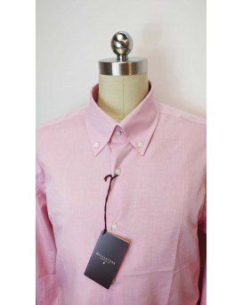 BALLANTYNE Regular Style 男士正式襯衫 U12BALL0003-SHI-M-01-11500PINK