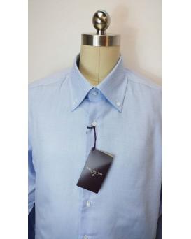BALLANTYNE Regular Style 男士正式襯衫 U12BALL0003-SHI-M-01-13104BLU