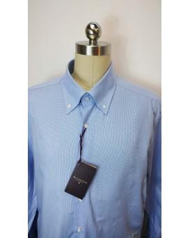 BALLANTYNE Regular Style 男士正式襯衫 U12BALL0003-SHI-M-01-13159BLU