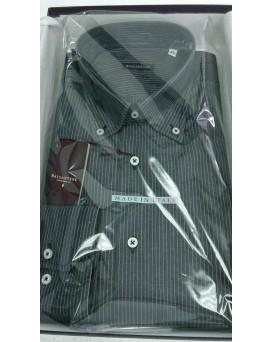BALLANTYNE Regular Style 男士正式襯衫 U12BALL0003-SHI-M-01-10010GREY
