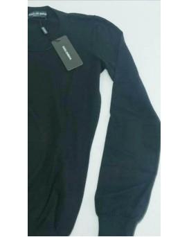 意大利 D&G Dolce & Gabbana 高級純羊絨100% Cashmere 女裝毛衣 SD11DG0001-F-01-NERO